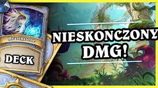 NIESKOŃCZONY DMG! - QUEST MAGE - Hearthstone Deck (Rastakhan's Rumble)