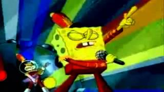 "Spongebob Sings ""Just cant get enough"" by the Black Eyed Peas"