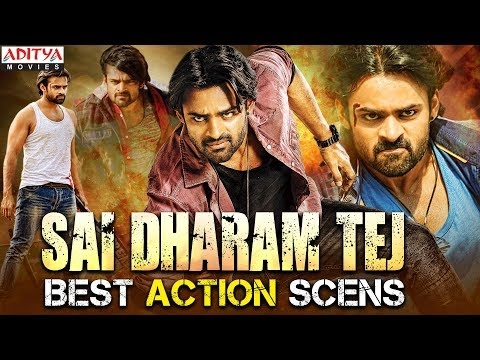Sai Dharam Tej Best Action Scenes | South Indian Hindi Dubbed Movies
