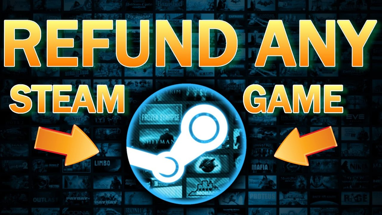 steam how to get refund