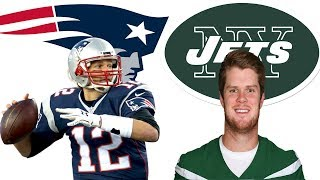 New England Patriots vs New York Jets Play by Play & Reaction!