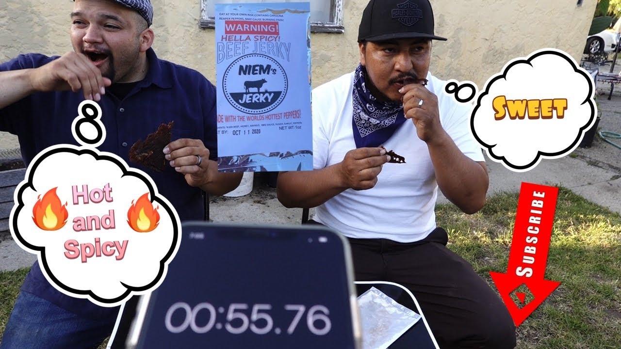 Worlds Hottest Beef Jerky Challenge
