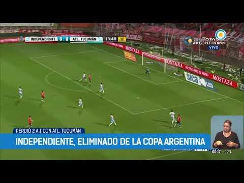 Copa Argentina: Independiente eliminado