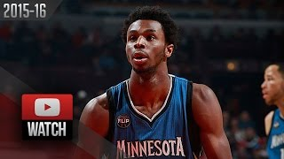Andrew Wiggins Full Highlights at Bulls (2015.11.07) - 31 Pts, BEAST!