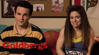 goldbergs the scrunchie rule with laugh track
