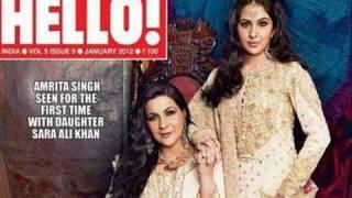 Sara Ali Khan and Amrita Singh in Hello