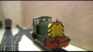 oorail.com | Heljan Class 05 Hunslet Shunter in BR Green with Wasp stripes