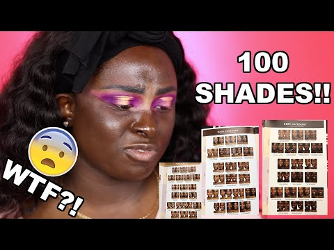 100 SHADES OF FOUNDATION?! PUR 4in1 Love Your Selfie Foundation    Ohemaa Bonsu