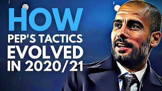 Pep Guardiola's Manchester City Tactics in 2020/21 Explained ● Tactical Analysis