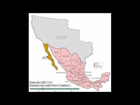 Mexico States Evolution