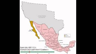 Mexico States Evolution