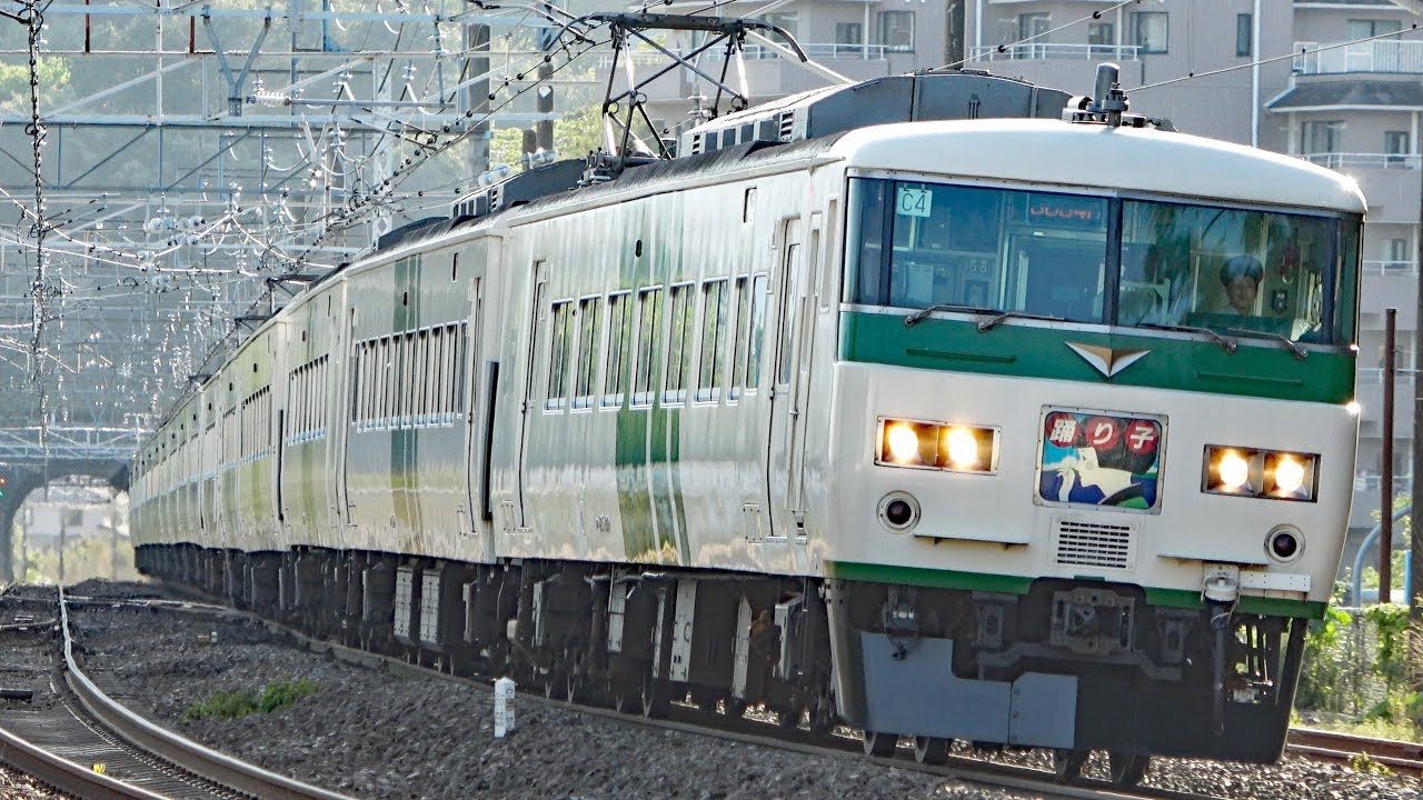 185系最後の大増発?特急踊り子号20本運行!【2019GW】東京駅→真鶴駅 ...