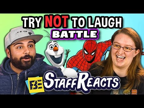 Thumbnail: Try to Watch This Without Laughing or Grinning Battle #2 (ft. FBE Staff)