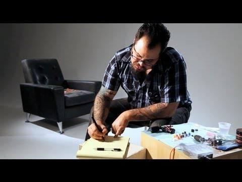 How To Do Script & Calligraphy | Tattoo Artist
