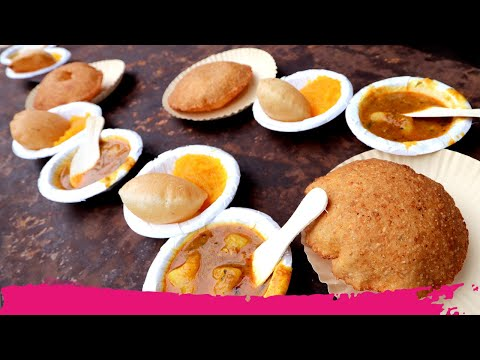 The ULTIMATE Indian BREAKFAST STREET FOOD TOUR of Old Delhi | Delhi, India