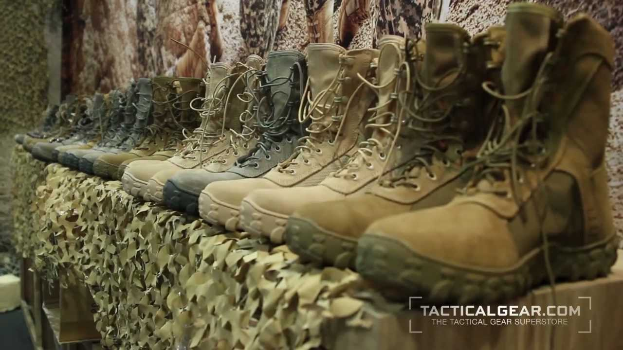 Rocky S2V Jungle Boot at SHOT Show 2013 - YouTube