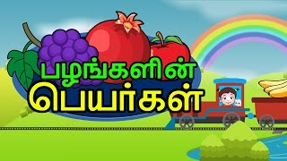 Learn Fruits Name Tamil