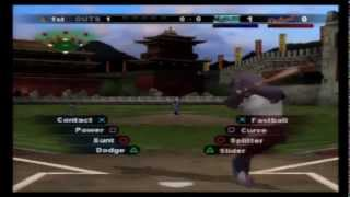 MLB Slugfest 2006 (PS2) REMATCH:  Rodeo Clowns vs Dolphins - Battle of the Joke Teams!