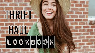Thrift Haul Look-Book & Try-on♡ April 2019 ♡