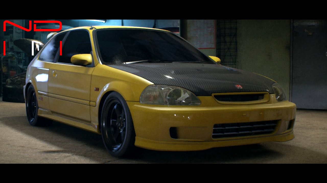 honda civic type r 2000 modified nfs2015 sound youtube. Black Bedroom Furniture Sets. Home Design Ideas
