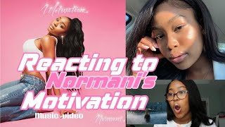 NORMANI - MOTIVATION (OFFICIAL VIDEO) ** REACTION VIDEO