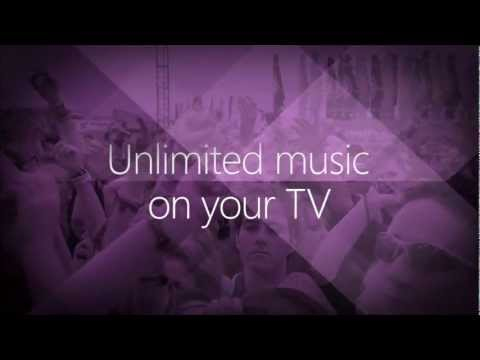 Xbox Music Launch Video