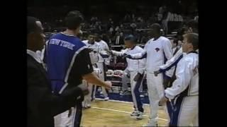 New York Knicks Player Introduction 1996-97 vs Rockets @ MSG