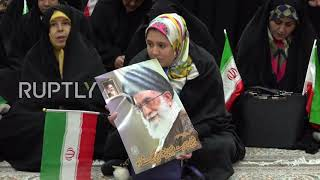 Iran: Officials mark 40th anniversary of Iran's Islamic revolution at Khomeini's tomb