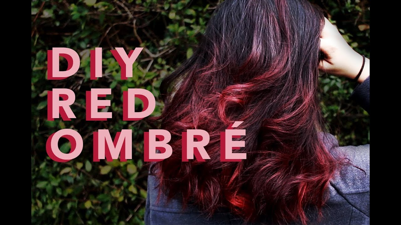 Diy Red Auburn Ombre On Virgin Hair