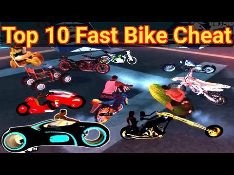 Top 10 Secrets Bikes Cheats In GTA San Andreas     GTA San All Super Bikes