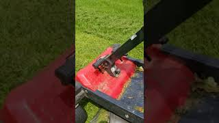 Troy built 46 inch zero turn power awesome mower