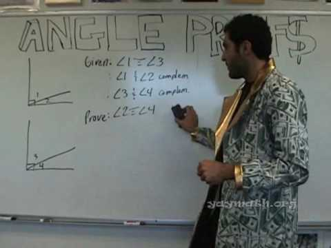 Geometry Angle Proofs Youtube