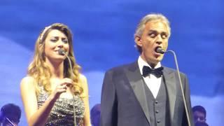 Andrea Bocelli & Ilaria Della Bidia - Canto della terra/Budapest, 25.11.2017