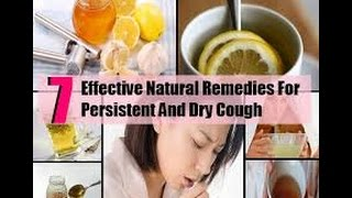Natural Cough Remedies for Persistent & Dry Coughs
