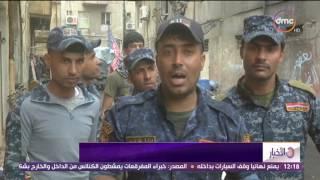 الأخبار - القوات العراقية تخوض حرب شوارع ذد داعش الإرهابي فى الأحياء الضيقة بمدينة الموصل