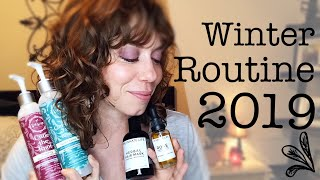 Updated! My 2019 Winter Haircare Routine | real life+curly girl