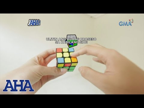 AHA!: Tips on how to solve a rubik