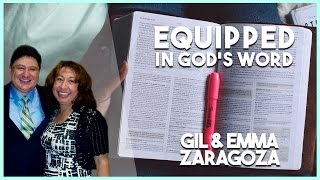 """""""Equipped in God's Word"""" Gil Zaragoza (United With Christ-08/02/16)"""