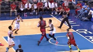 June Mar Fajardo with The Euro Step Move | Philippine Cup 2015-2016