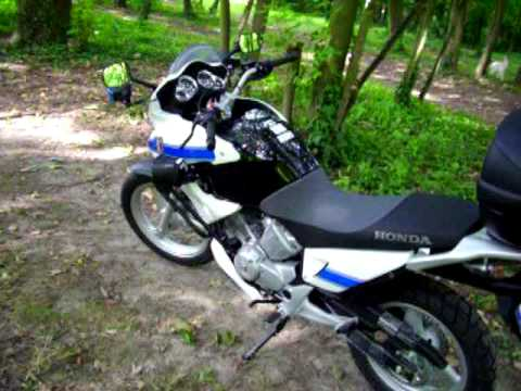 honda 125 varadero police youtube. Black Bedroom Furniture Sets. Home Design Ideas