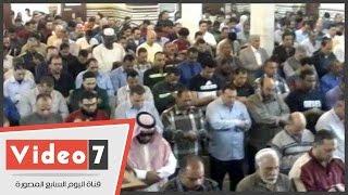 أداء صلاة الغائب بمسجد عمر مكرم على شهداء الوطن