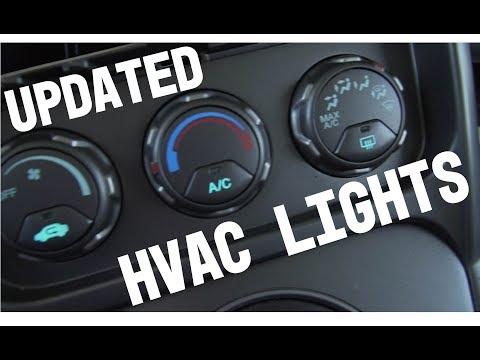 Honda Element HVAC LED Lights