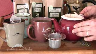 How to Make Tea with Loose Herbs