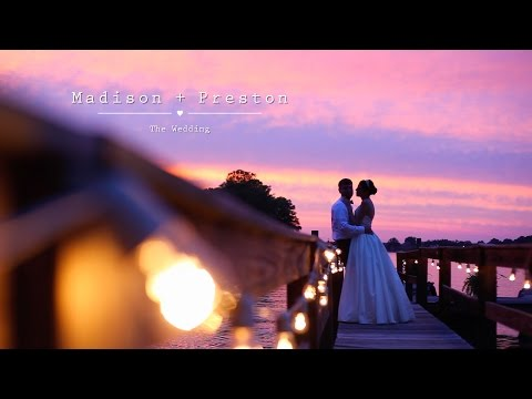 Madison and Preston's wedding on Lake Norman