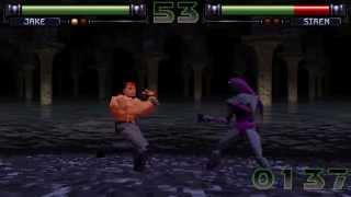 FX Fighter (Argonaut Software) (MS-DOS) [1995] [PC Longplay]