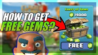 HOW TO GET FREE GEMS?CLASH OF CLANS•LEGAL WAY!