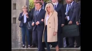 法国举行市政选举第二轮投票 总统马克龙前往投票