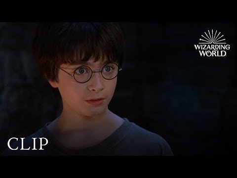 """Yer a wizard, Harry"" 