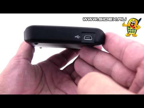 Sidex.ru: Видеообзор внешнего HDD Transcend StoreJet 25D2 500 Gb (rus)