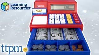 Pretend & Play Calculator Cash Register from Learning Resources